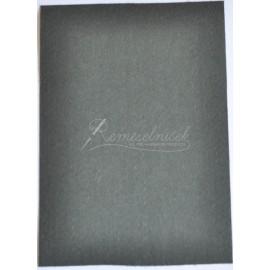 filc hrúbka 1mm, format A4 - cierny- 1ks