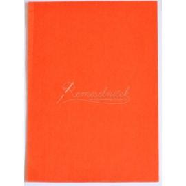 filc hrúbka 1mm, format A4 - oranžový- 1ks