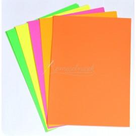 papier kartonový neonový 10 ks