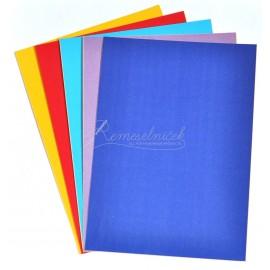 papier so sametovým povrchom samolepiaci 5 ks