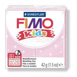FIMO kids perletova ružová 42g