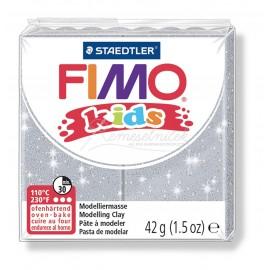 FIMO kids šedá s trblietkami 42g