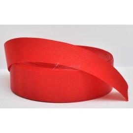 saténová stuha červená 25mm