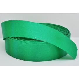 saténová stuha zelená 25mm