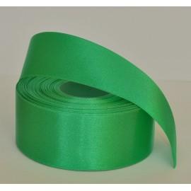 saténová stuha zelená 38mm
