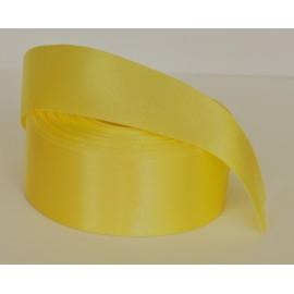 saténovástuha citronová 38mm