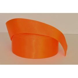 saténová stuha oranžová  38mm
