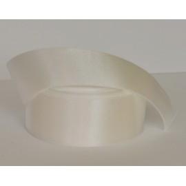 saténová stuha biela 38mm