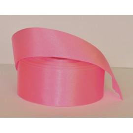 saténová stuha silná rúžová  38mm