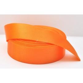 saténová stuha oranžová 25mm