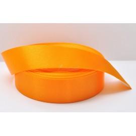 saténová stuha curry 25mm