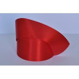 saténová stuha červená 50mm