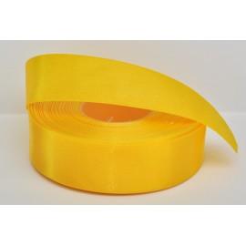 saténová stuha žltá 25mm