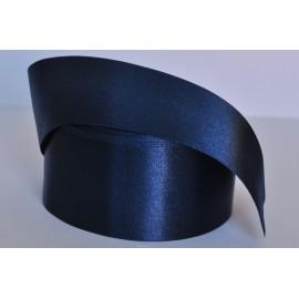saténová stuha čierno modrá 50mm