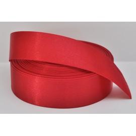 saténová stuha tmavá červená 25mm