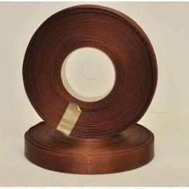 saténová stuha hnedá 12mm