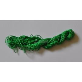 nylonová šnúrka 1mm zelená