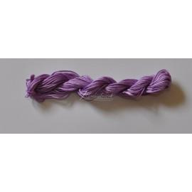 nylonová šnúrka 2mm svetlo fialová