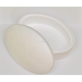 polystyrenová šperkovnica ovál