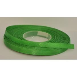 saténová stuha 6mm zelená trávová