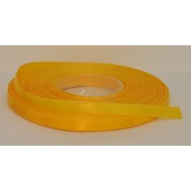 saténová stuha 6mm  žltá