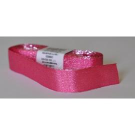 ozdobná stuha adjustačná 25mm rúžová, návin 10 metrov