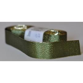 ozdobná stuha adjustačná 25mm zelená, návin 10 metrov