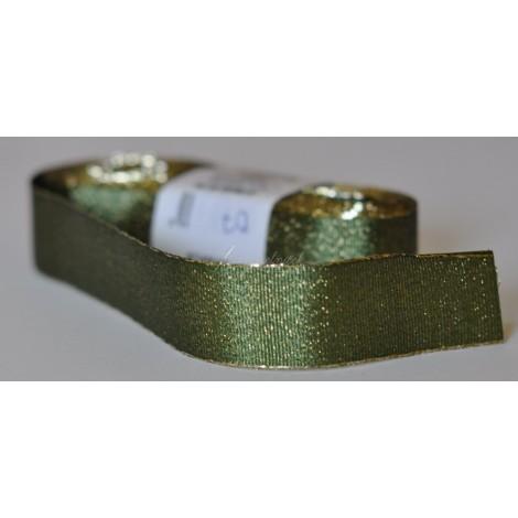 ozdobná stuha adjustačná 25mm zelená