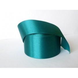 saténová stuha modrozelená 50mm